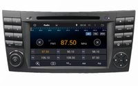 """Mercedes-Benz E-Class W211 CLS W219 G-Class W463 2001-2008 1024*600 4-core HD 2 din 7"""" Android 4.4 Car Radio Car DVD GPS for Benz E-Class W211 CLS W219 G-Class W463 With 3G WIFI BT IPOD TV USB AUX IN"""