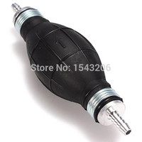 Wholesale 8mm Black Rubber Fuel Primer Gasoline Pump Petrol Diesel mm x mm New small order no tracking