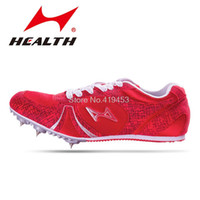 athletics shoes sprinting spikes - Genuine treadmill sprint spikes adult amp students athletics nail professional sports shoes breathable track amp field shoes