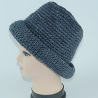 ac knit cap - orea crimping wool acrylic knitted female Korean tidal basin knit wool cap women s ac rylic knitted fedoras hat