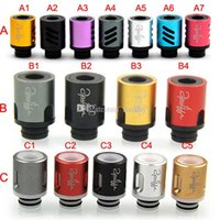 Wholesale Newest Drip Tips Adjustable airflow Wide Bore Drip Tip for EGO Protank DCT Clearomizer RDA E Cigarettes mods Vaporizer Atomizer Tank