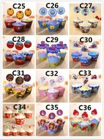 cupcake decorations - Party Decorations Event Cupcake Wrappers Spiderman Iron Man Transformers CupCake Toppers Picks Kids Birthday Supplies Party Favors H0155