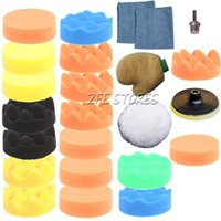Wholesale 24Pc100mm Higher Gross Polishing Pad for Car Polisher Drill Adapter quot