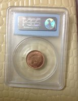 Carved antique and collectible - Replica PCGS VF20 VF30 Genuine Indian Head Small Cents