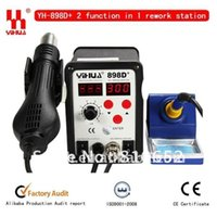 Cheap Free shippsing 2 function in 1 YIHUA 898D+ Hot Air Desoldering Station