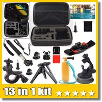 Wholesale 13 in Travel Kit Accessories M size shockproof carry case For Gopro Hero Camera