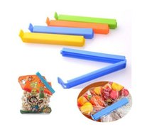 Wholesale Hot Sale Home Food Close Clip Seal Bags Storage Sealing Rods Sealer Clips For plastic bag