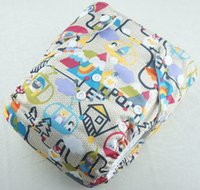 Wholesale New Coming Prefold baby Cloth diaper With Inserts Washable Baby Cloth Nappies adjustable Urine Pants