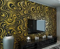 Wholesale High quality m m Modern Luxury d wallpaper roll mural papel de parede flocking for striped wall paper color