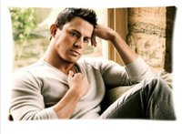 Wholesale Sexy Channing Tatum Sexiest Man Custom Queen Size x30 Pillowcase Pillowslips DIY Pillow Cover Fashion Design