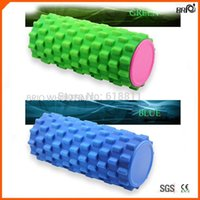 Wholesale Fabrica mayorista Yoga circle High density trigger point EVA Foam roller Deep tissue massager w colors