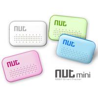 Wholesale Mini Nut Smart Tag GPS Tracker Bluetooth Key Finder Locator Sensor Alarm Anti Lost Wallet Pet Child Locator