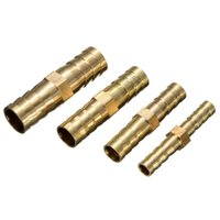 Wholesale Excellent Quality PC mm mm mm mm Brass Hose Tail Connectors Pipe Repairers Fuel Water Air Hose Repair Part