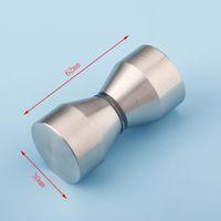 bathroom glass door hardware - Hardware solid bathroom small handle glass door handle shower accessories CP407
