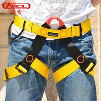 aerial work - Rock climbing seated belts extend fire downhill aerial work safety belt outdoor equipment