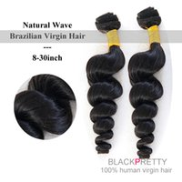 Wholesale Unprocessed A Brazilian Natural Wave Virgin Hair Brazilian Virgin Hair Natural Wave Human Hair Extension