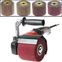Wholesale 1200W V Burnishing Polishing Machine Polishing Wheel Pad Polisher Sander Set