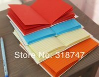 Wholesale DIY Stationery Notebook Notepad Memo vintage colorful Notebook Notepad Memo Diary pc