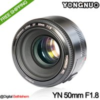 Wholesale In Stock YONGNUO YN mm F1 Lens Large Aperture Auto Focus Lens mm f1 for Canon EOS DSLR Cameras