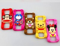 Cheap Universal Silicone Bumper Best Frame Cartoon Character Case