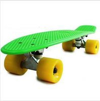 Wholesale freeshipping mini Fashion crazy skateboard style new type plastic skateboard longboard