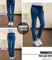 baggy jeans woman - Brand New Spring Pregnant women baggy pants Pregnant women jeans stretch pants