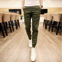 linen pants - 1601 Top Quality New Brand Mens Print Beam Foot Sport Joggers Tactical Pencil Hip Hop Khaki Pants Outdoor Sweatpants Training Man