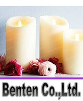 Wholesale 3pcs set Luminara LED Real Wax Led Votive Candle with Dancing Flame Luminara Led Candle Flicker LLFA4084F