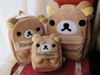 bear shoulder - lovely rilakkuma bear plush backpack rilakkuma school bag rilakkuma shoulder bag
