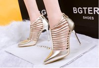 beautiful womens shoes - womens shoes fashion skinny stiletto fine pointed Rome shallow mouth sexy and elegant beautiful and generous