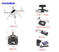 axis camera wireless - Walkera QR X350 pro Quadcopter Drone Helicopter Wireless Transmitter Receiver Axis FPV RC Quadcopter with Camera F7 RC Long Range Drone