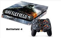 Cheap New 1Set Battle Field 4 Vinyl Decal Skin Sticker For PS4 Console PVC Sticker for Playstation 4 PS4 Controller Games Free Shipping