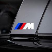 Wholesale Car stickers M logo FOR BMW X1 X3 X5 X6 E36 E39 E46 E30 E60 E92 M3 M4 M5 M6 F01 F02 F03 F04 F10 F11 F12 F13 F25
