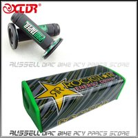 Wholesale ProTaper grips RockStar Handle bar pad for dirt bike spare parts ATV Quad Green sets