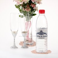 Wholesale Personalized Water Bottle Label Wedding Decoration Wedding Supplies Event Party Supplies