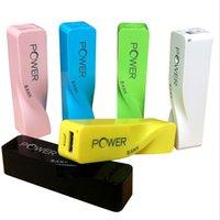 Cheap Power Bank 2600 power bank Best For Samsung  portable lipstick 2200mah