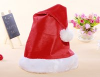 Wholesale new year christmas ornament decoration supplies High cm Width cm christmas hat g natal enfeites de natal
