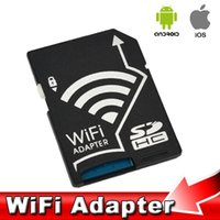 micro sd card wifi - High Speed Wifi SD Card Adapter Micro SD MicroSD TF Converter for SONY Canon Nikon Cameras Photos Wirelessly to Phone Tablets