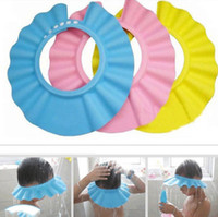 baby shampoo brands - Baby kids Toddler Adjustable Hair Wash Hat Shampoo bathing Shower Eye Shield Cap Brand New Good Quality
