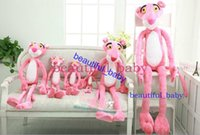 pink panther - Pink Panther Plush Toy leopard Giant Stuffed Animal Cute Gift For Girlfriend Children cm
