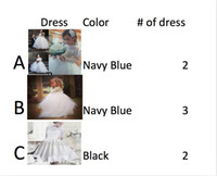 Wholesale speal linke for Rhana0413 two navy blue A three navy blue B two black C