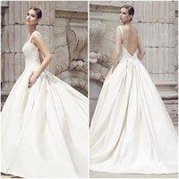 Cheap backless wedding dressers Best sleeveless wedding dresses