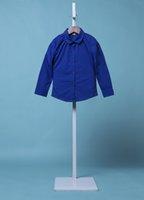 Wholesale 2016 Spring Shirts Children Girls Long Sleeves Cotton Solid Blouse De Renda Kids Clothes