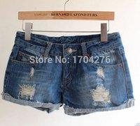 Cheap Women Women Jeans Shorts Best Regular Button Fly Jeans Shorts