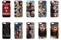 Wholesale Protective shell case for iphone size inches new duck dynasty series
