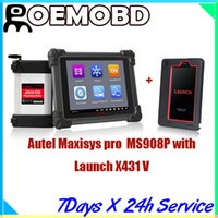 For BMW professional - New Original Autel MaxiSys Pro MS P professional diagnostic scanner Online Update far beyond DS708 MS908P with Launch X431 V Diagnose
