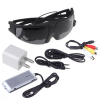 glasses fpv - 2015 Best New inch VG260 Portable Wireless Video Glasses Eyewear Mobile Theatre with AV in for FPV