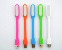 Wholesale Mini USB Light Xiaomi LED Light Gadget Portable Bendable Outdoor Sports Soft LED Light For Power bank Computer dhl OTH062