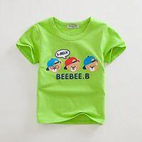 Cheap New 2015 Children Short Sleeve T-Shirts Kids Wear Clothing Tees Cool Cartoon Creeper Boys T Shirts Children Baby T-Shirt