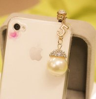 apple store order - Min Order Mix rhinestone small for apple mobile phone dust plug Starshine Jewelry Store SPG1073